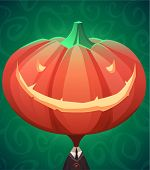 stock photo of halloween characters  - Jack lantern - JPG