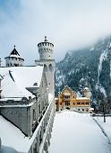 The Castle Of Neuschwanstein, Fuessen, Gerrmany