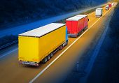 picture of fuel economy  - The trucks on the highway - JPG