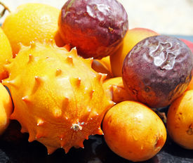 foto of nacked  - Exotic fruits - JPG