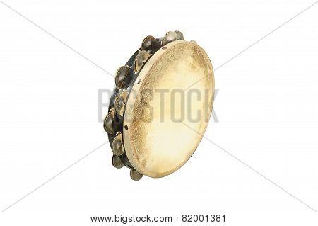 one tambourine