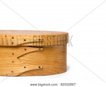 Craftsmanship - Details Of Hand Made Shaker Box