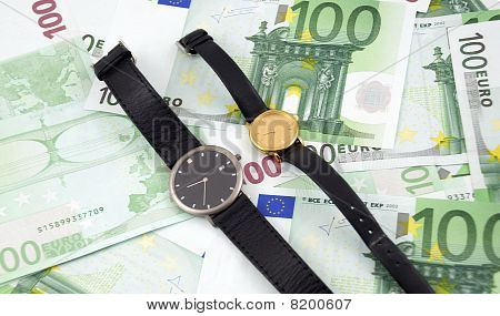 Time Is Money. Concept.