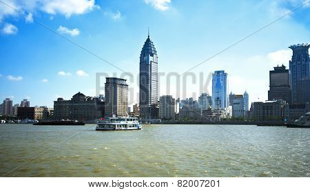 A View Of The Bund, Shanghai, China