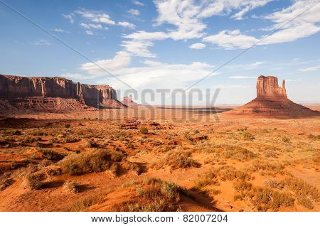 Typical Monument Valley Usa Western