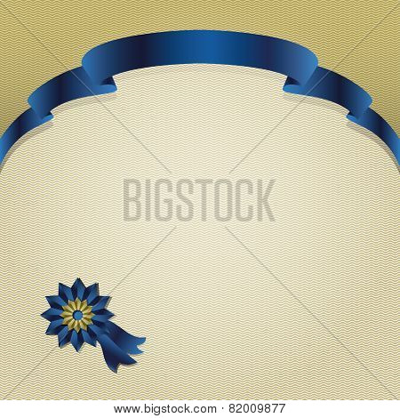 Blue Silk Premium Ribbon