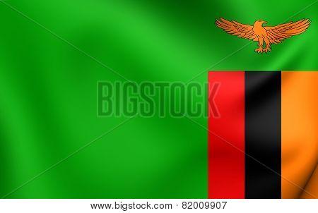 Flag Of Zambia
