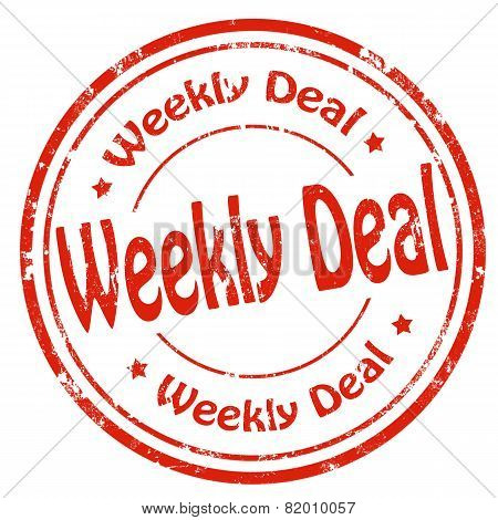 Weekly Deal-stamp