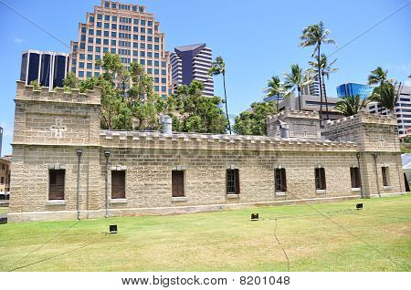 Iolani Barracks, Honolulu, Hawaii