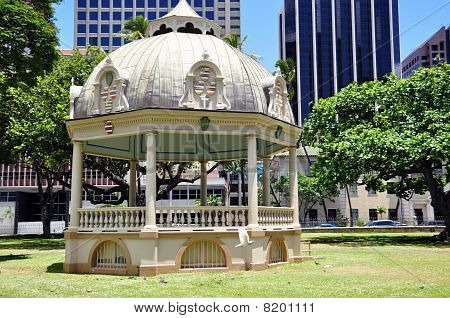 Royal Bandstand, Honolulu, Hawaii