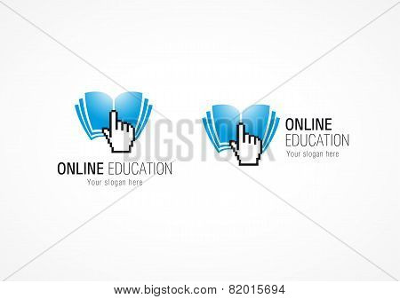 Online Education logo hand book