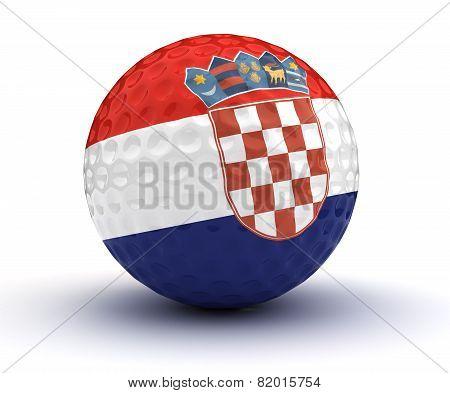 Croatian Golf Ball