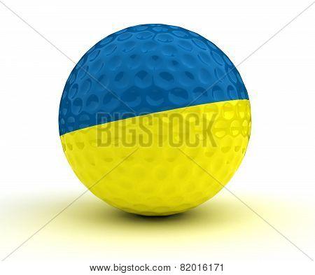 Ukrainian Golf Ball