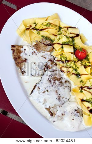 Veal And Pasta