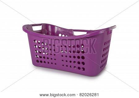 Violet Laundry Basket