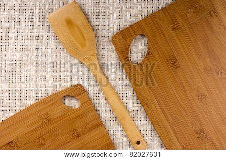 Set A Kitchen Board Bamboo
