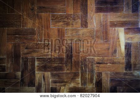 Wood Parquet Floor Texture Background