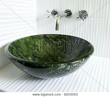 Modern Vessel Sink And Faucet