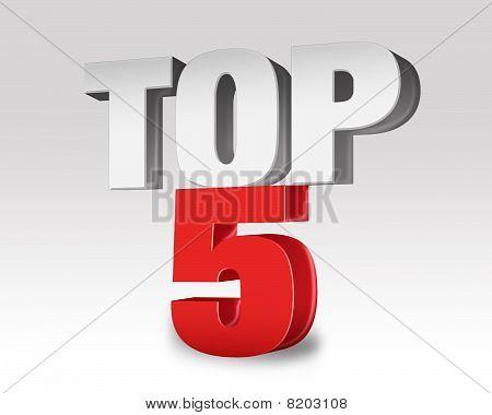 Top 5 selección