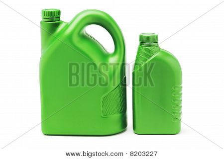 Big And Small Plastic Lubrication Oil Containers