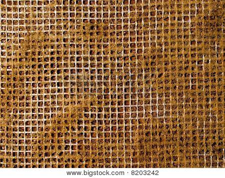 Patrón abstracto de la reticulación.