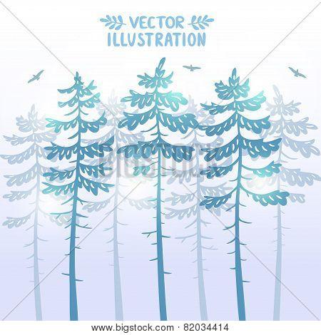 pine background