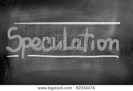 Speculation Concept