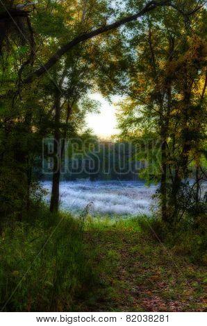 High Dynamic Range Image Of  Landscape