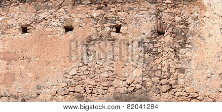 Old masonry in Fuerteventura