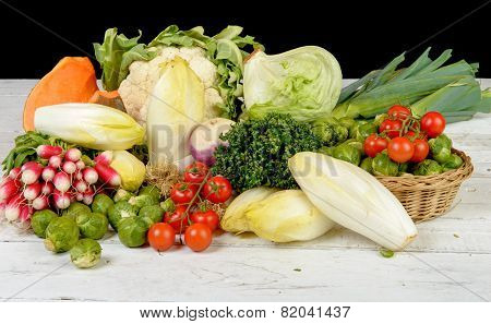 Different Vegetable