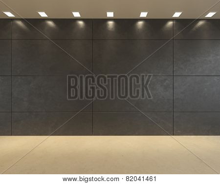 A modern office wall