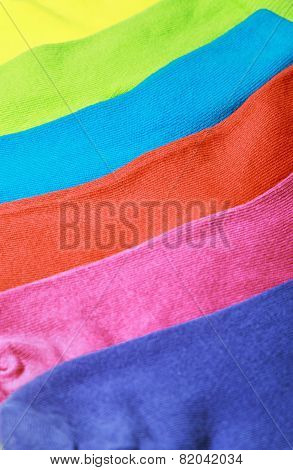 Colorful Socks Background