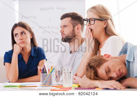 Boring Presentation.
