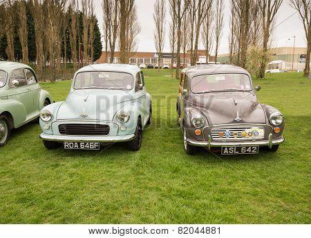 Old Morris Motor Car