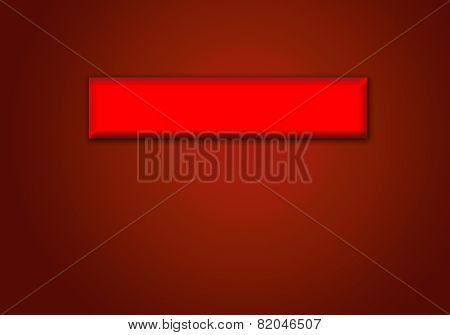 Red Strip On The Abstract Claret Background