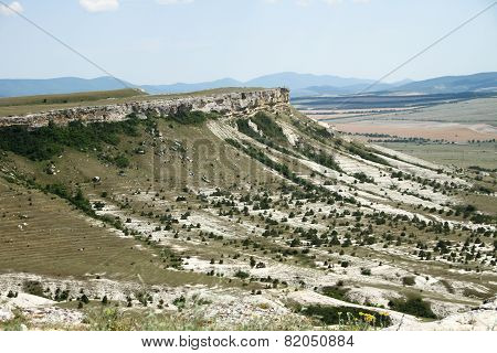 White Rock or Ak-Kaya in the Crimea