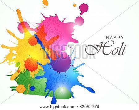 Colorfull Holi Splash