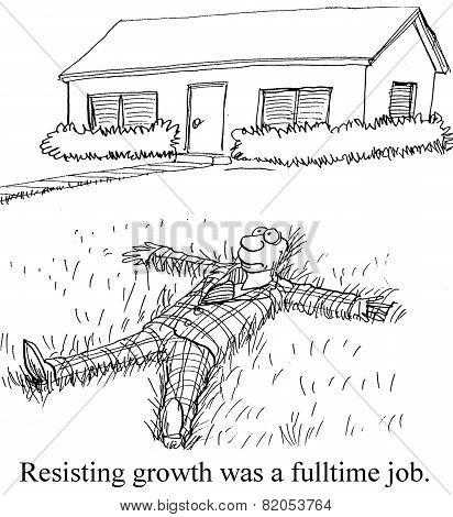 Resisting Growth