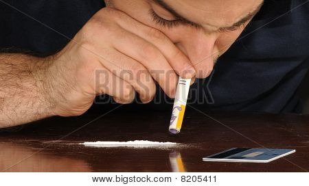 Doing cocaine