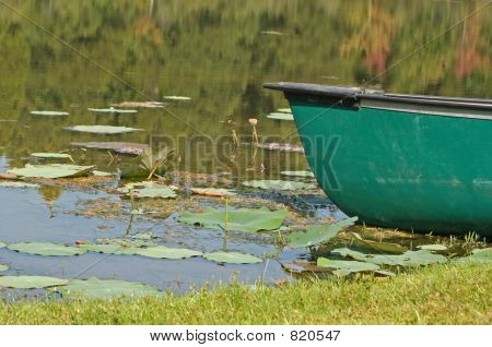 boat at lake 2