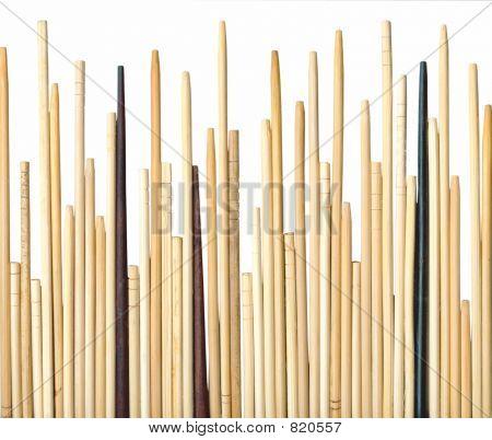 Palillos de madera