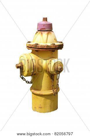 Rusty Fire Hydrant.