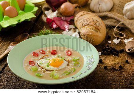 Hhomemade Potato, Bulls-eye Fried Egg