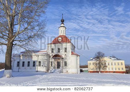Temple Of The Resurrection Slovusheye In Kolomna