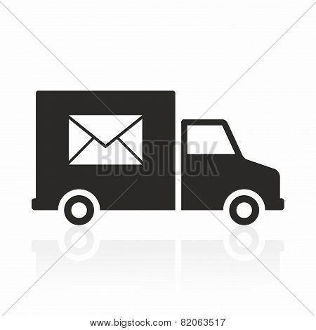 Post car icon