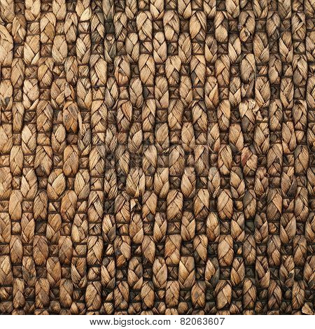 Wicker mat background
