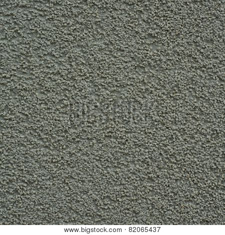 Gravel wall painted gray