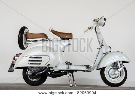 1964 Vintage  White Vespa