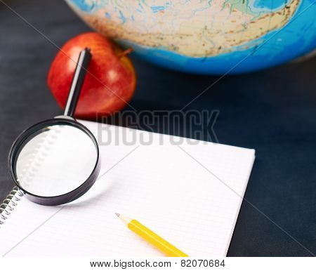 Studying geography composition