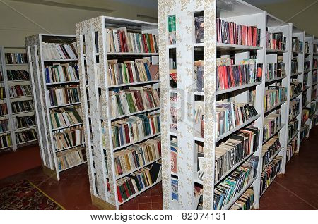 Shelving Books In The Library